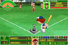 Backyard Baseball screen shot 2 2