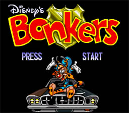 Bonkers SNES Screenshot Screenshot 1