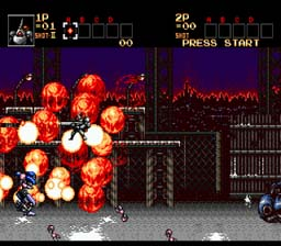 Contra Hard Corps screen shot 2 2