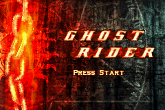 Ghost Rider GBA Screenshot Screenshot 1
