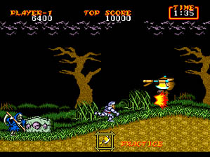 Ghouls 'n Ghosts screen shot 2 2