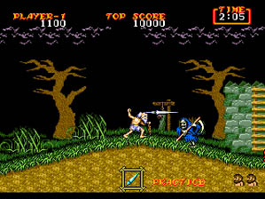 Ghouls 'n Ghosts screen shot 4 4
