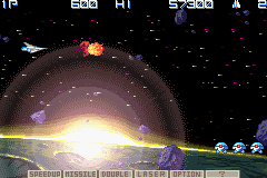 Gradius Galaxies screen shot 2 2