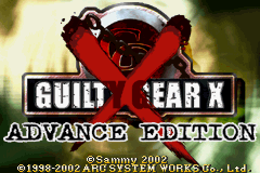 Guilty Gear X Advance Edition GBA Screenshot Screenshot 1
