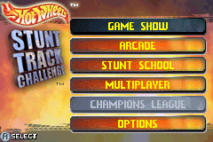 Hot Wheels Stunt Track Challenge GBA Screenshot Screenshot 1