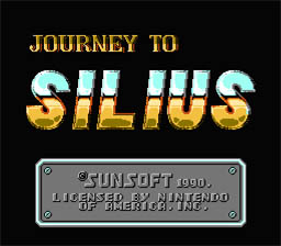 Journey to Silius NES Screenshot Screenshot 1