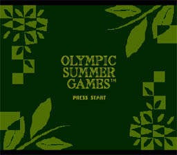 Olympic Summer Games screen shot 1 1