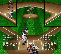 RBI Baseball 93 screen shot 2 2